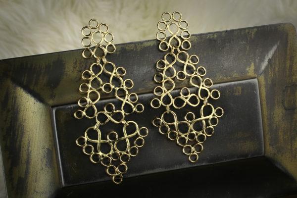 Gold Ear Pendants