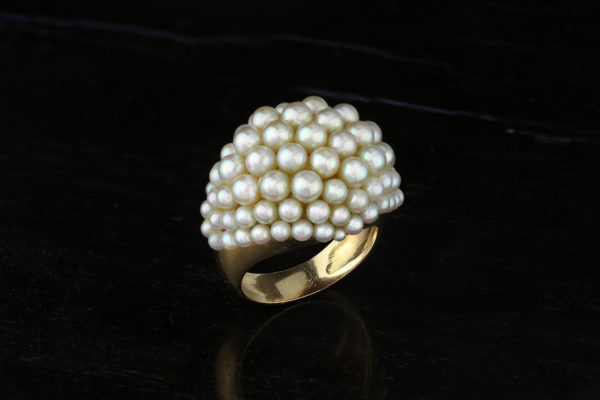 Rene Boivin Pearl And Gold Ring