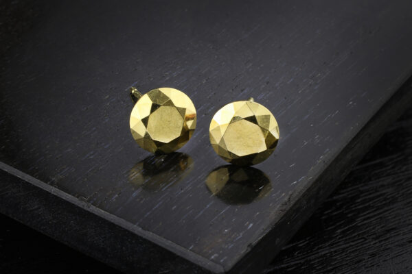 Tiffany & Co., Elsa Peretti Gold 'Carat' Ear Studs