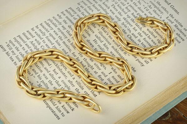 Georges L'Enfant For Van Cleef & Arpels Gold Chain Necklace
