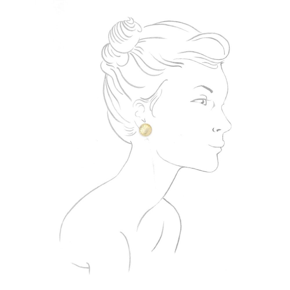 Bulgari Gold Ear Clips