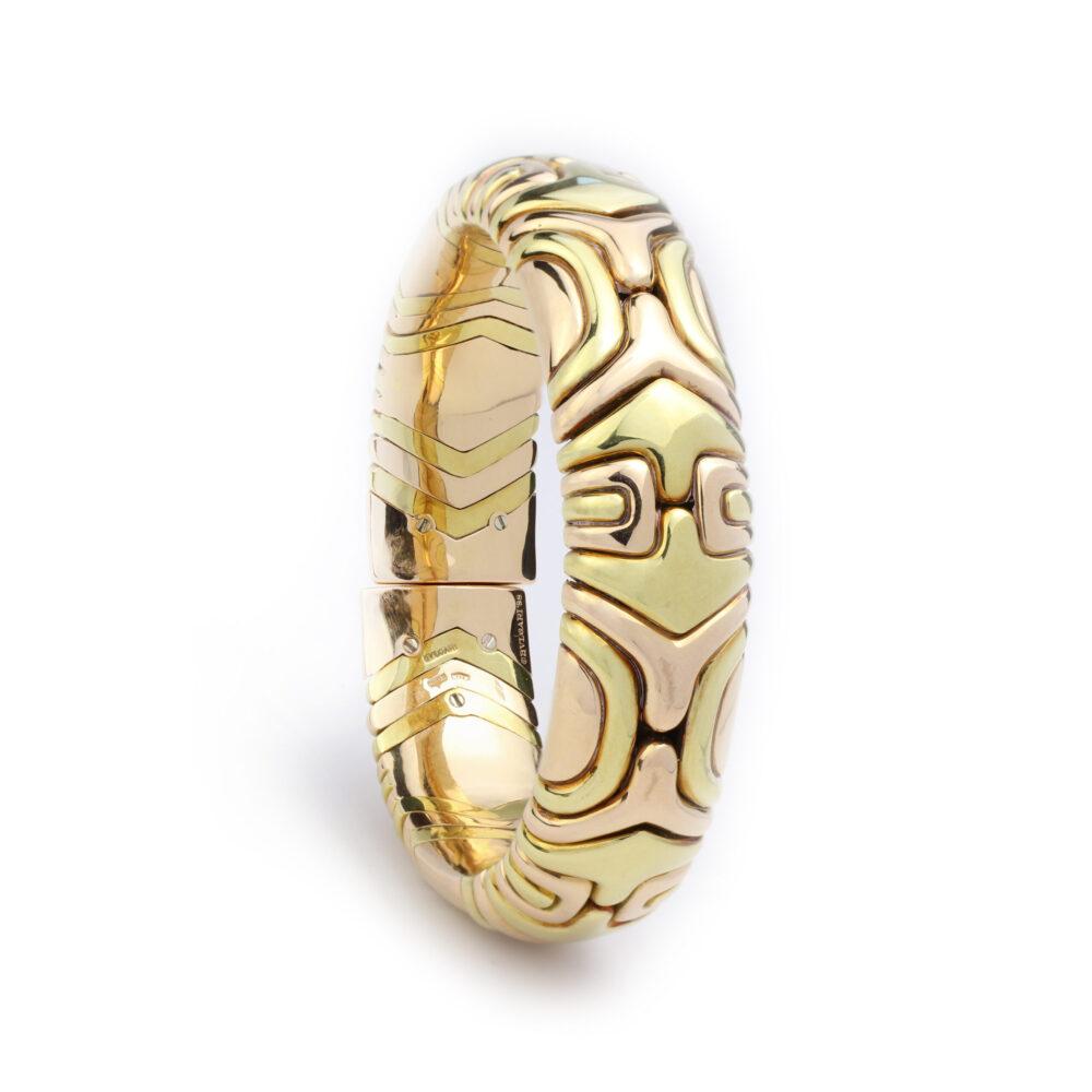Bulgari 'Alveare' Gold Bracelet
