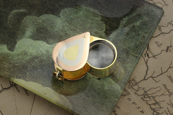 Tri-Colored Gold Jeweler's Loupe