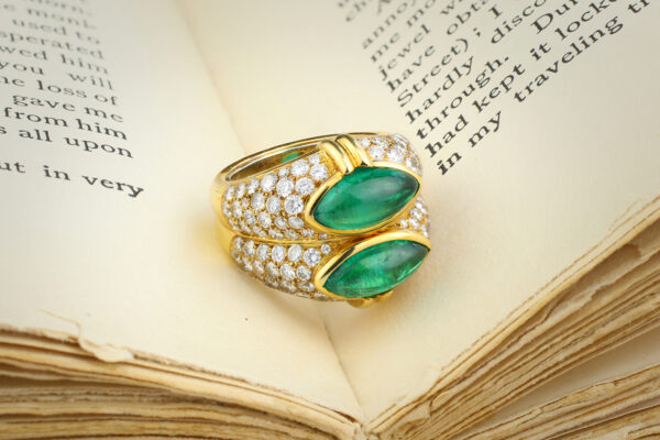 Bulgari, Emerald And Diamond Ring