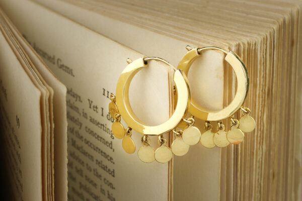 Cartier Gold Hoop Earrings