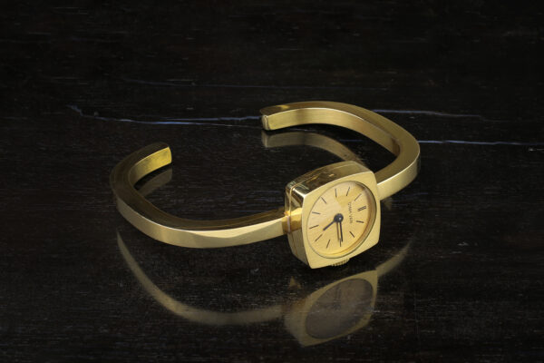 Dinh Van Gold Wristwatch