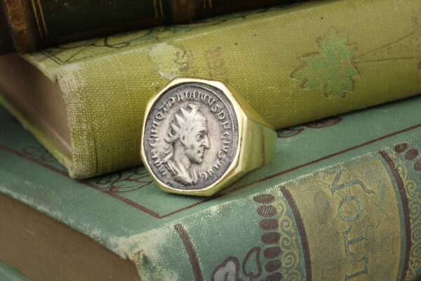 Bulgari Ancient Coin Ring