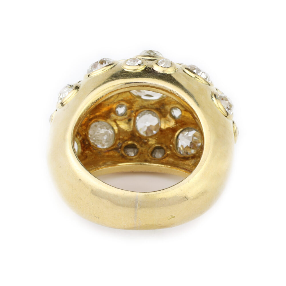 Rene Boivin Gold and Diamond Ring