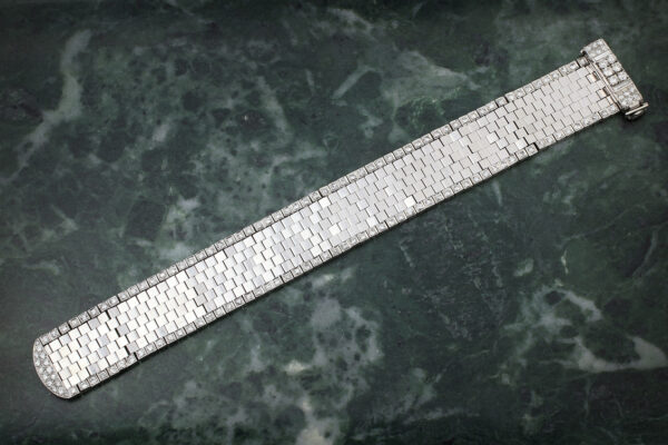Van Cleef & Arpels Mid 20th Century Diamond Set Bracelet
