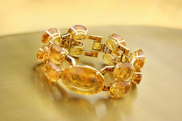 Cartier Citrine And Diamond Bracelet» Price On Request «