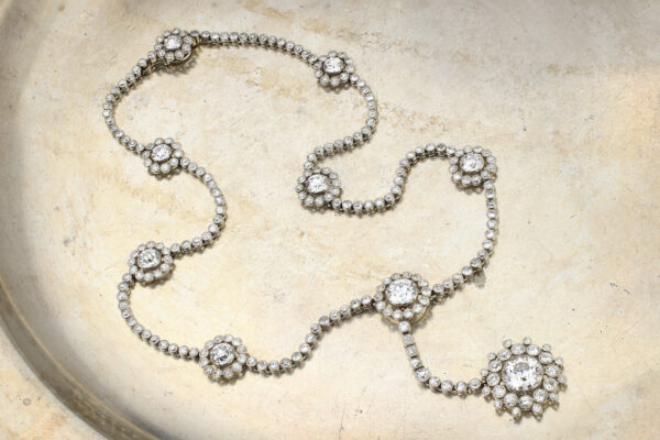 Cartier Belle Epoque Diamond Necklace» Price On Request «