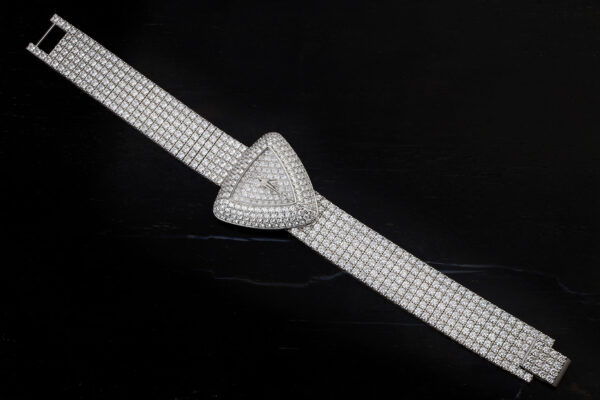 Piaget White Gold And Diamond Wristwatch